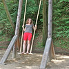giant swings, how fun! And we weren't the only ones who thought so. You should have seen all the old folks playing on them.