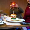 Quite the burger!