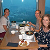 Korean dinner in the tower.