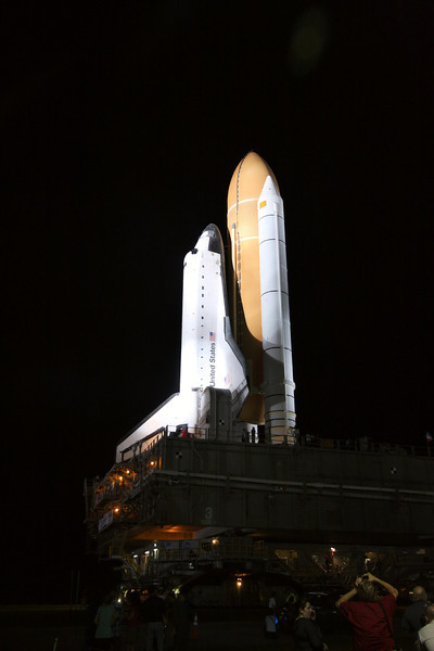 Space Shuttle Atlantis Final Rollout from V A B  5-31-11 (26)
