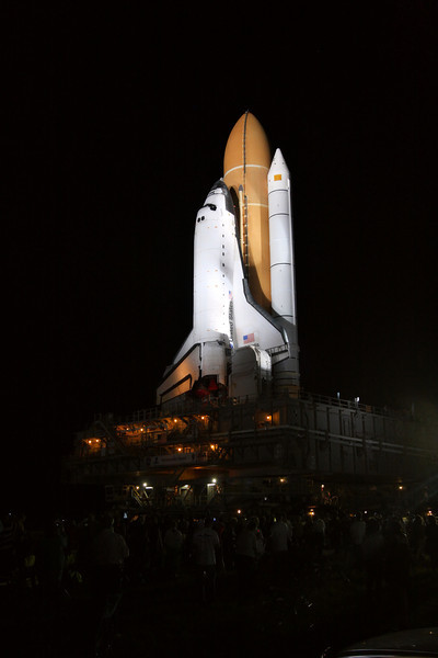 Space Shuttle Atlantis Final Rollout from V A B  5-31-11 (35)