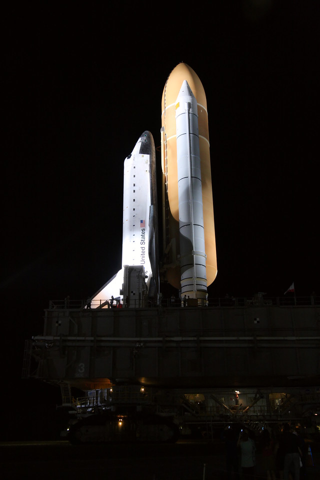 Space Shuttle Atlantis Final Rollout from V A B  5-31-11 (25)