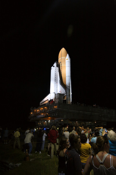 Space Shuttle Atlantis Final Rollout from V A B  5-31-11 (29)