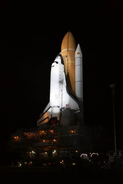 Space Shuttle Atlantis Final Rollout from V A B  5-31-11 (36)