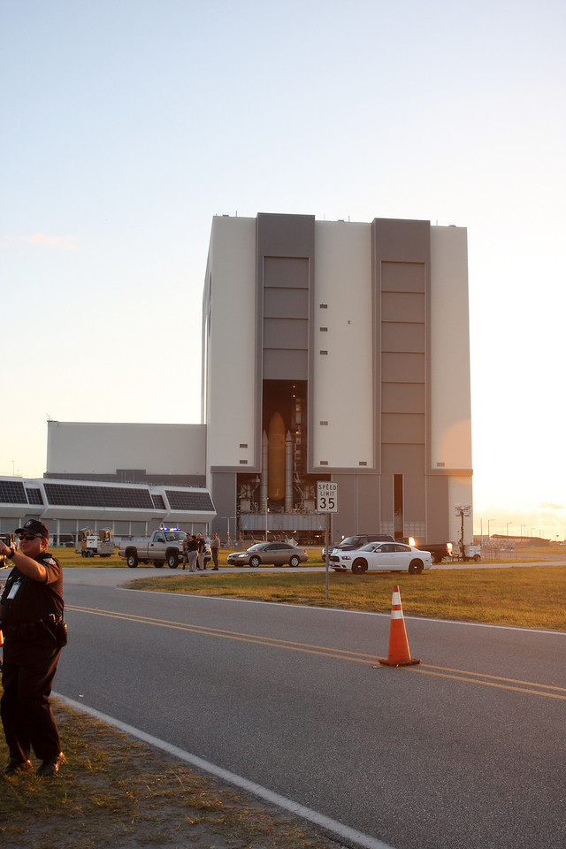Space Shuttle Atlantis Final Rollout from V A B  5-31-11 (4)