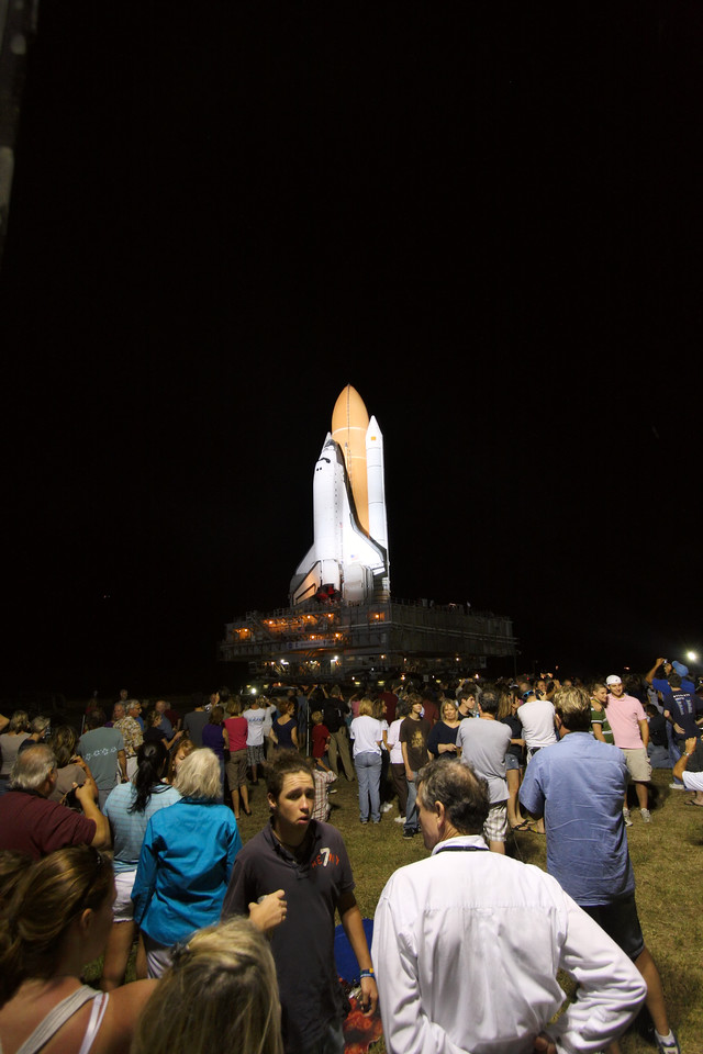 Space Shuttle Atlantis Final Rollout from V A B  5-31-11 (34)
