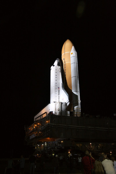 Space Shuttle Atlantis Final Rollout from V A B  5-31-11 (27)