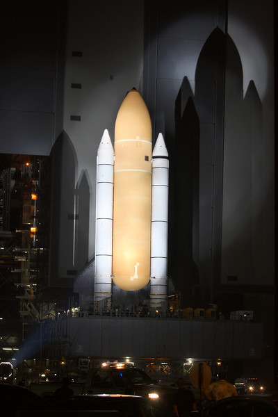 Space Shuttle Atlantis Final Rollout from V A B  5-31-11 (16)
