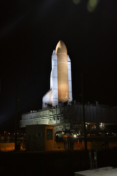 Space Shuttle Atlantis Final Rollout from V A B  5-31-11 (21)