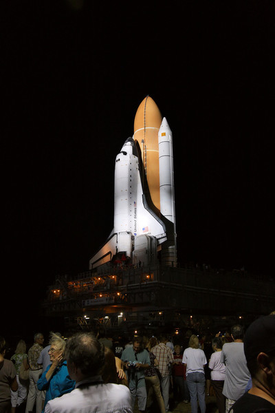 Space Shuttle Atlantis Final Rollout from V A B  5-31-11 (33)