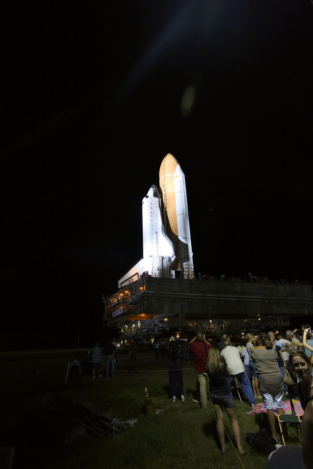 Space Shuttle Atlantis Final Rollout from V A B  5-31-11 (28)
