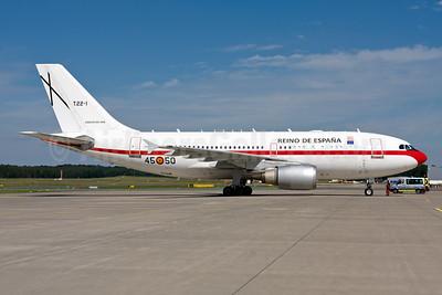 Reino de España (Kingdom of Spain) - Ejército del Aire (Spanish Air Force) Airbus A310-304 T.22-1 - 45.50 (msn 550) NUE (Gunter Mayer). Image: 954499.