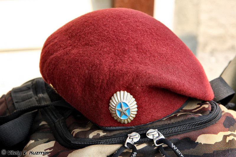 ПСН Беркут МВД РК разрешено проведение испытаний на право ношения крапового берета (Kazakhstan maroon beret)