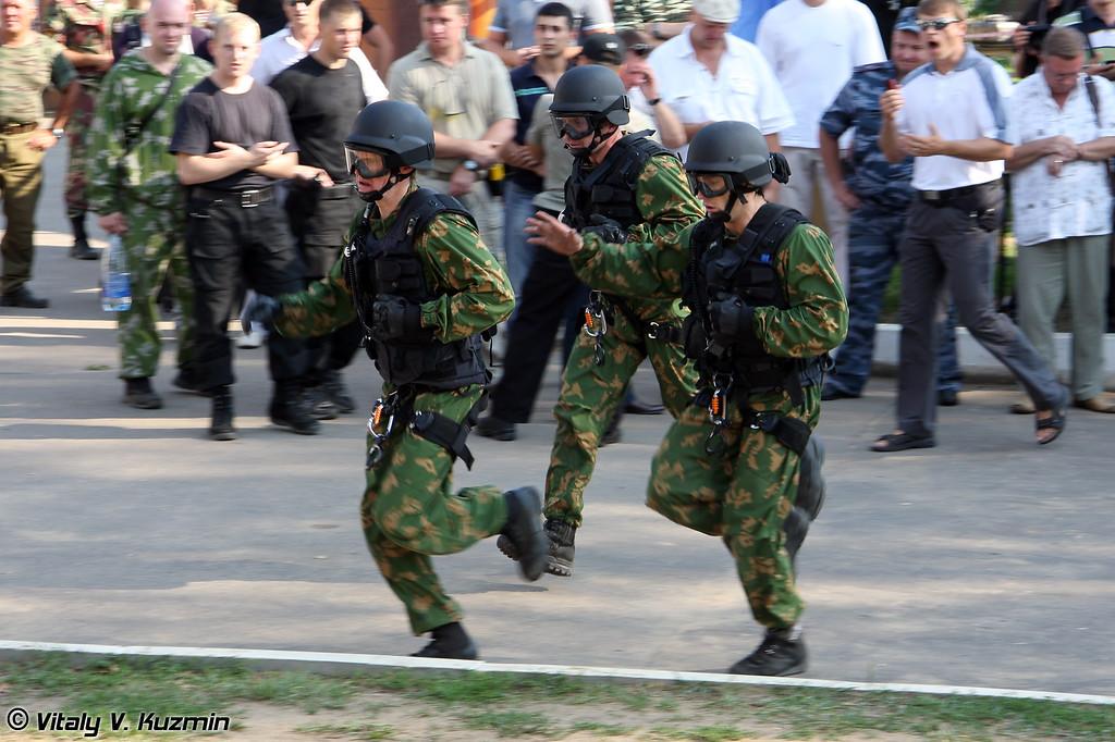 """Вторая команда Управления """"В"""" ЦСН ФСБ России (FSB Vimpel second team)"""