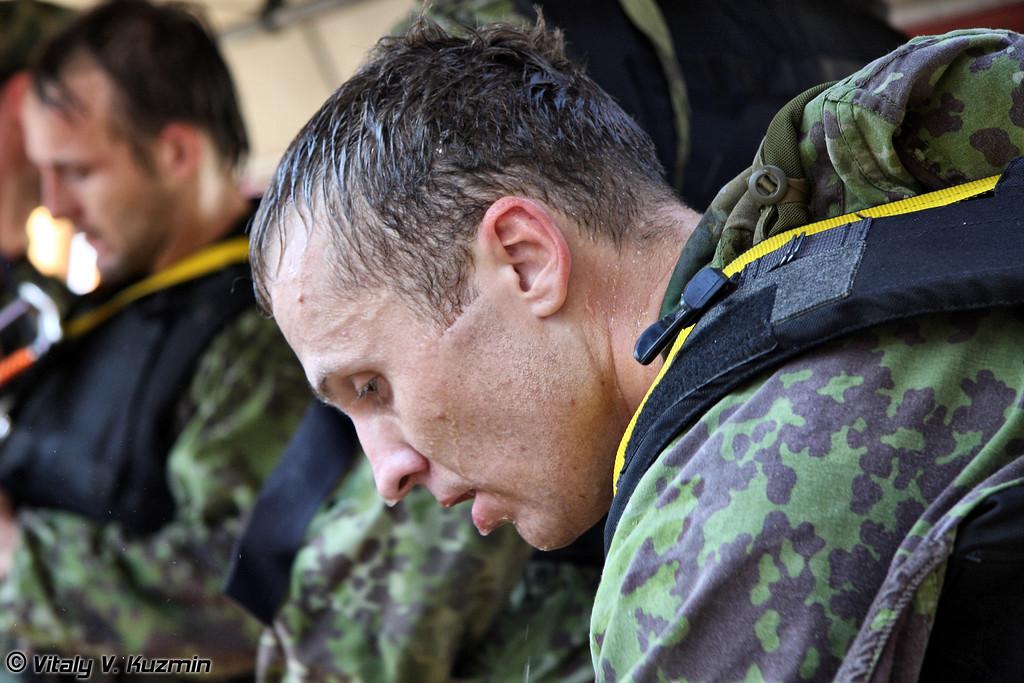 Прохождение полосы первой командой СОБР Рысь (SOBR Ris' first team)