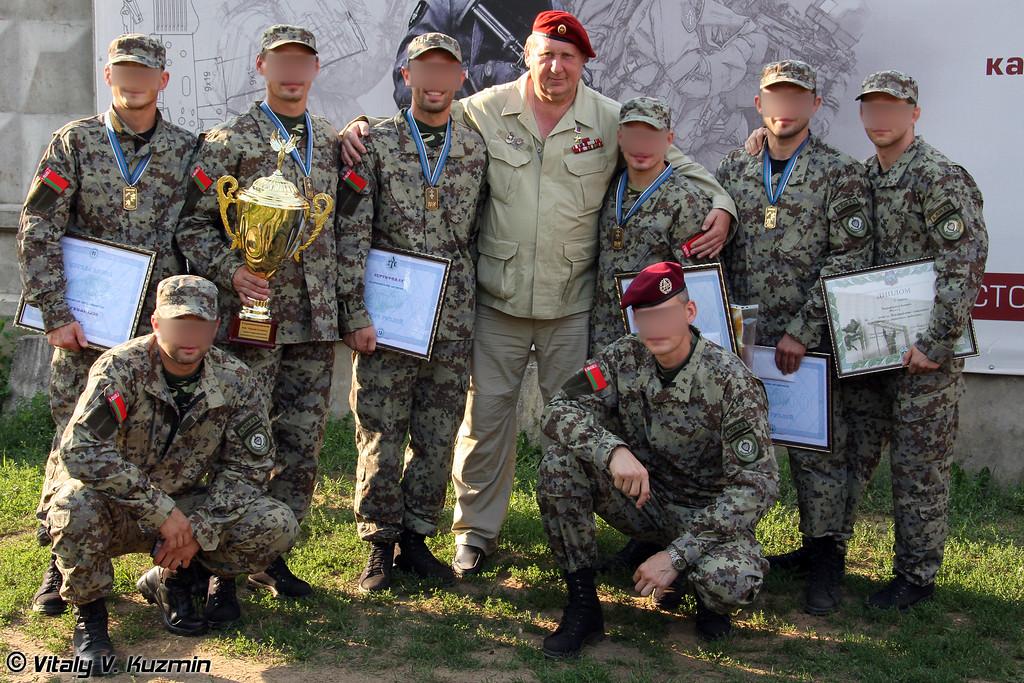 Команда СПБТ Алмаз МВД Республики Беларусь (Belorussian Almaz team)