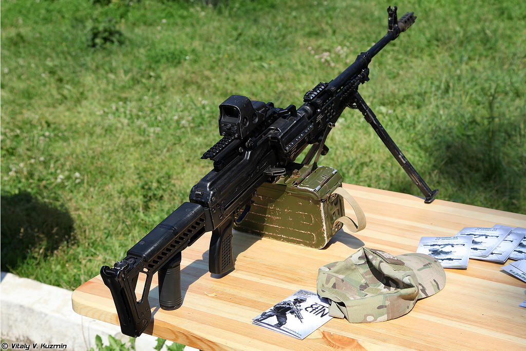 Тюнинг от Зенитки (Zenitko parts for machinegun)
