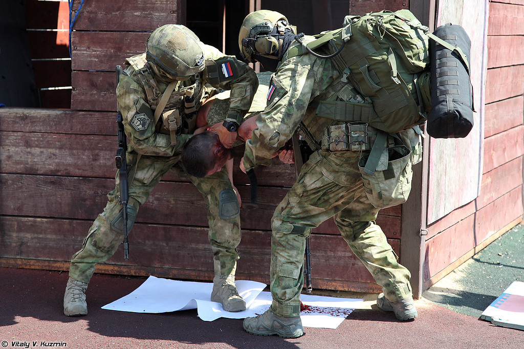 Демонстрация Учебного центра тактической медицины (Tactical medicine demonstration)