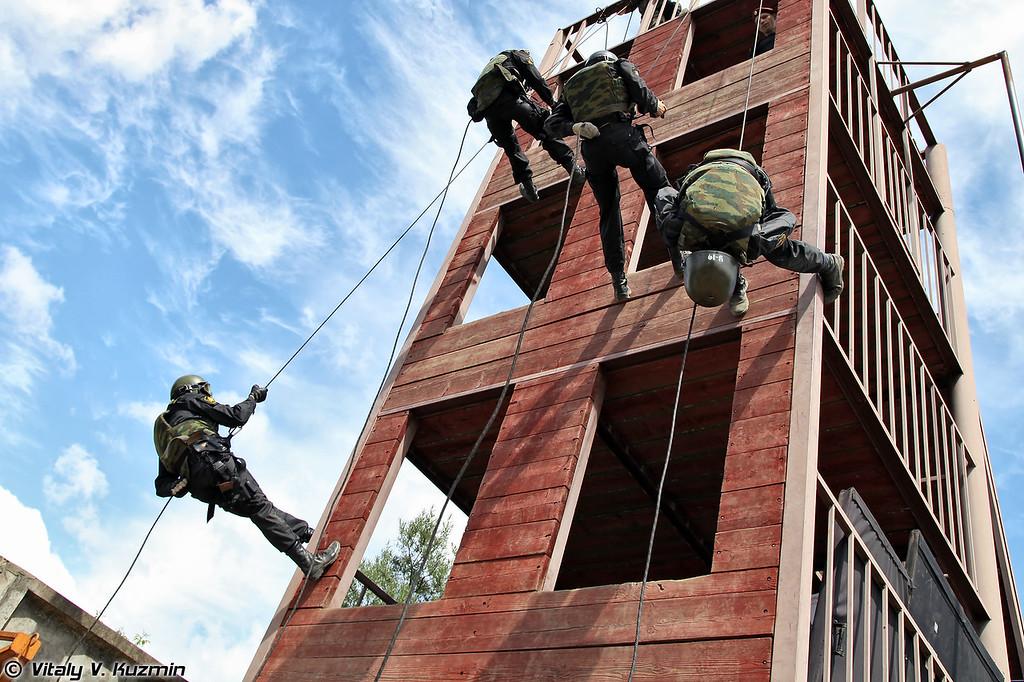 Выступление 33-го ОСН Пересвет ВВ МВД России (33rd Special purpose unit Peresvet)