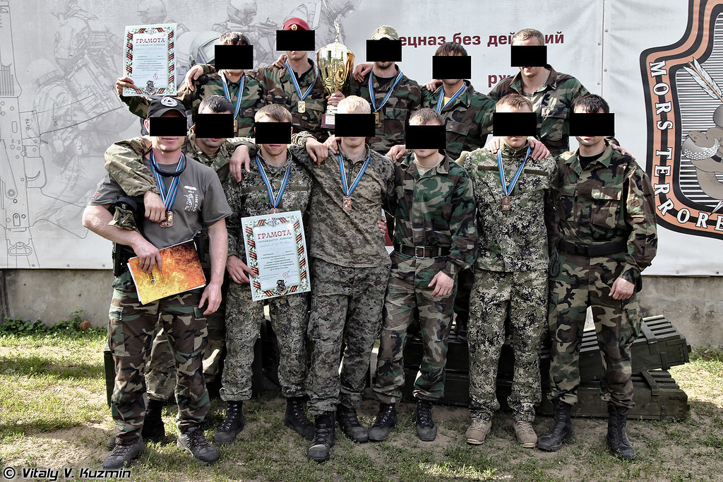 Представители всех трех команд Альфы (Alpha operators from all 3 teams that took part in the competition)