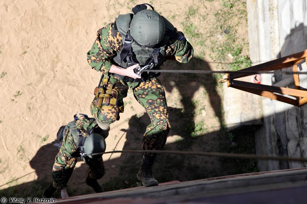Выступление команды 28-го ОСН ВВ МВД России (28th Special purpose unit «Ratnik» of Internal troops)