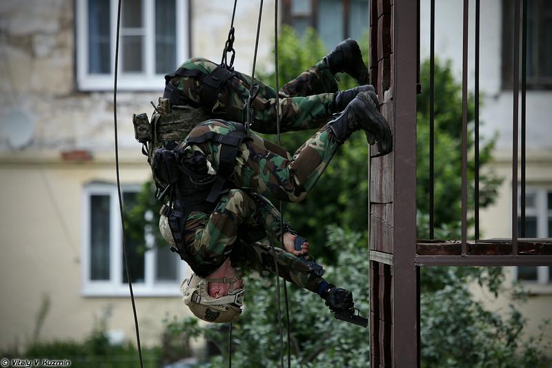 """Выступление команд Управления """"А"""" ЦСН ФСБ России (Alpha unit teams)"""