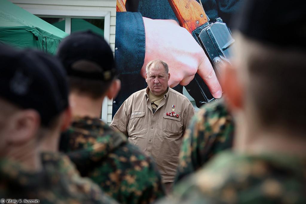 Герой России полковник Лысюк Сергей Иванович (Hero of Russia, colonel Sergey Lisyuk)