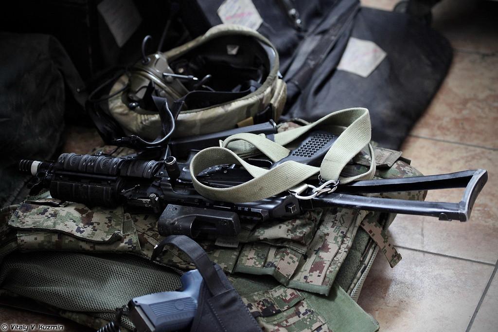 Пистолет-пулемет ПП-19-01 Витязь-СН (PP-19-01 Vityaz-SN submachine gun)