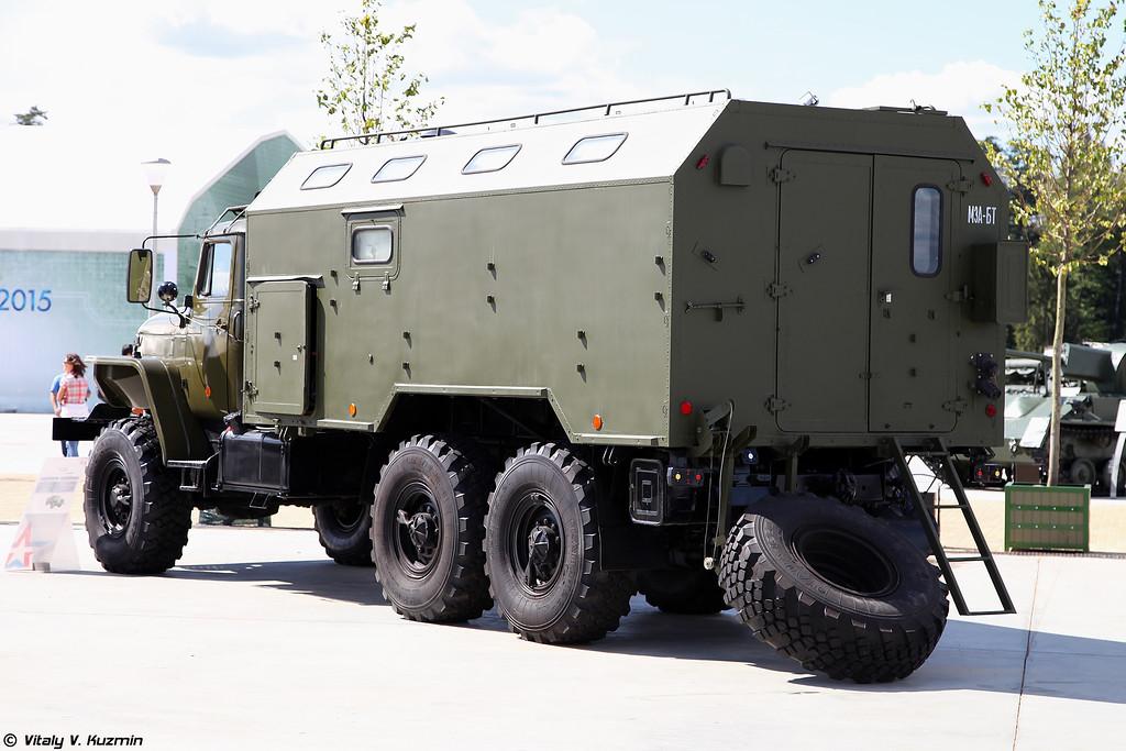 Мастерская МЗА-БТ (MZA-BT maintenance vehicle)
