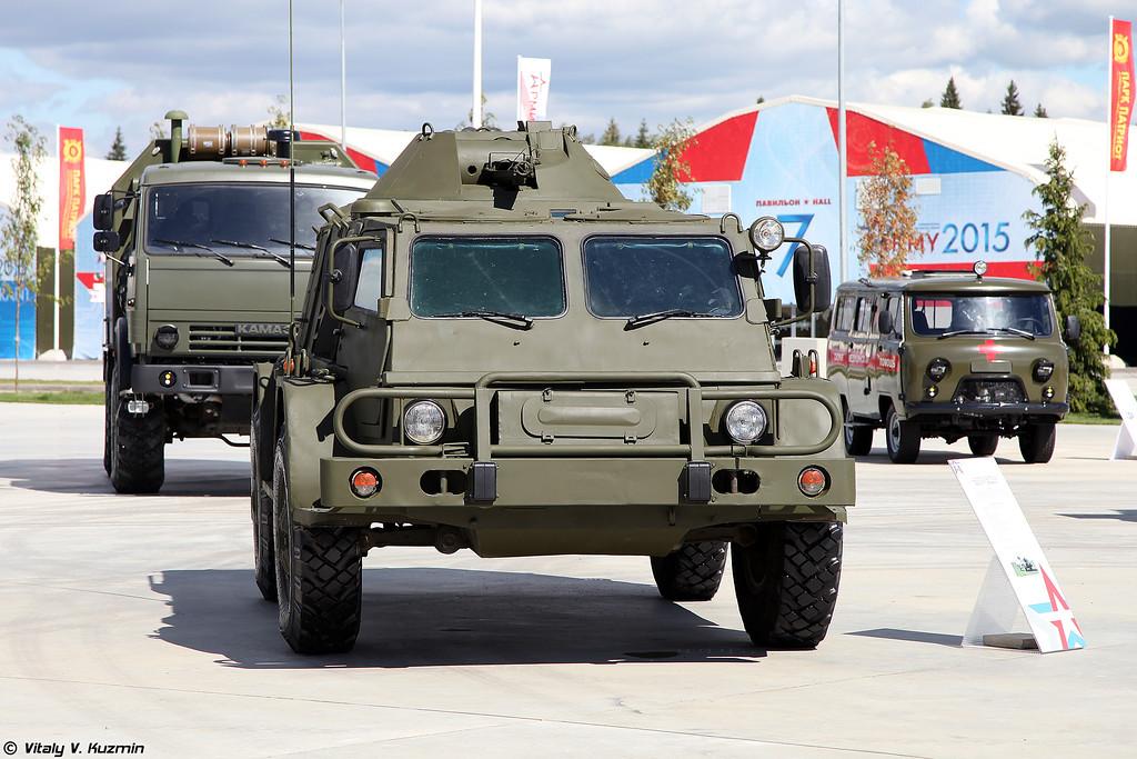 ГАЗ-39371 Водник (GAZ-39371 Vodnik)