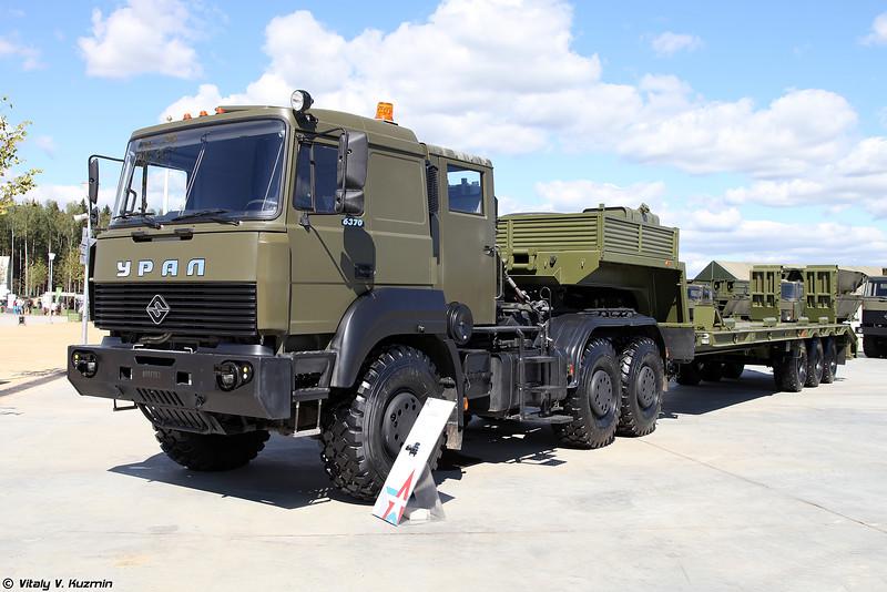 Седельный тягач Урал-63704 (Ural-63704 truck)