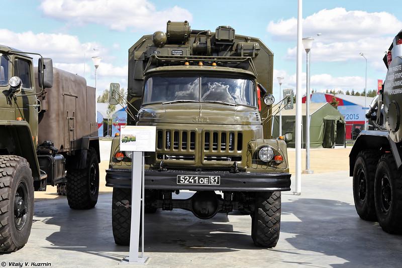 Автомобильная радиометрическая лаборатория АЛ-4М (AL-4M mobile CBRN laboratory)
