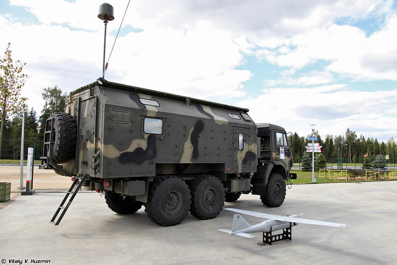Комплекс РЭБ РБ-341В Леер-3 (RB-341V Leer-3 ECM system with UAV)