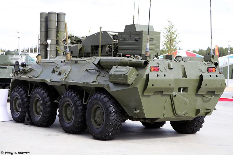 Боевая противодиверсионная машина 15Ц56М БПДМ Тайфун-М (15Ts56M BPDM Typhoon-M counter-sabotage combat vehicle)