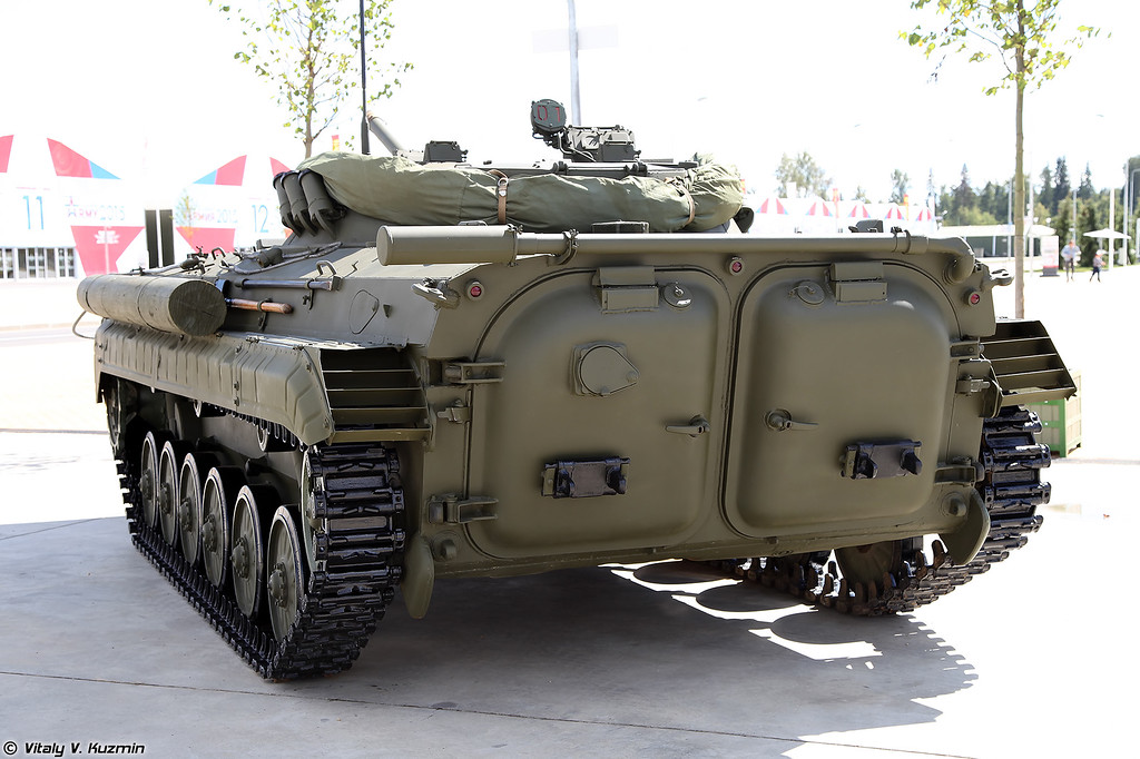 Боевая разведывательная машина БРМ-1К (Armored reconnaissance vehicle BRM-1K)