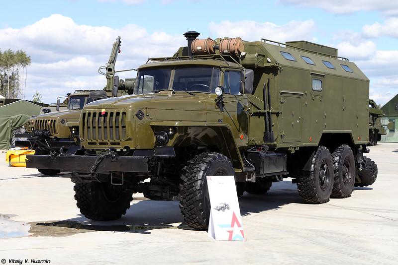 Мастерская МРС-БТ (MRS-BT maintenance vehicle)