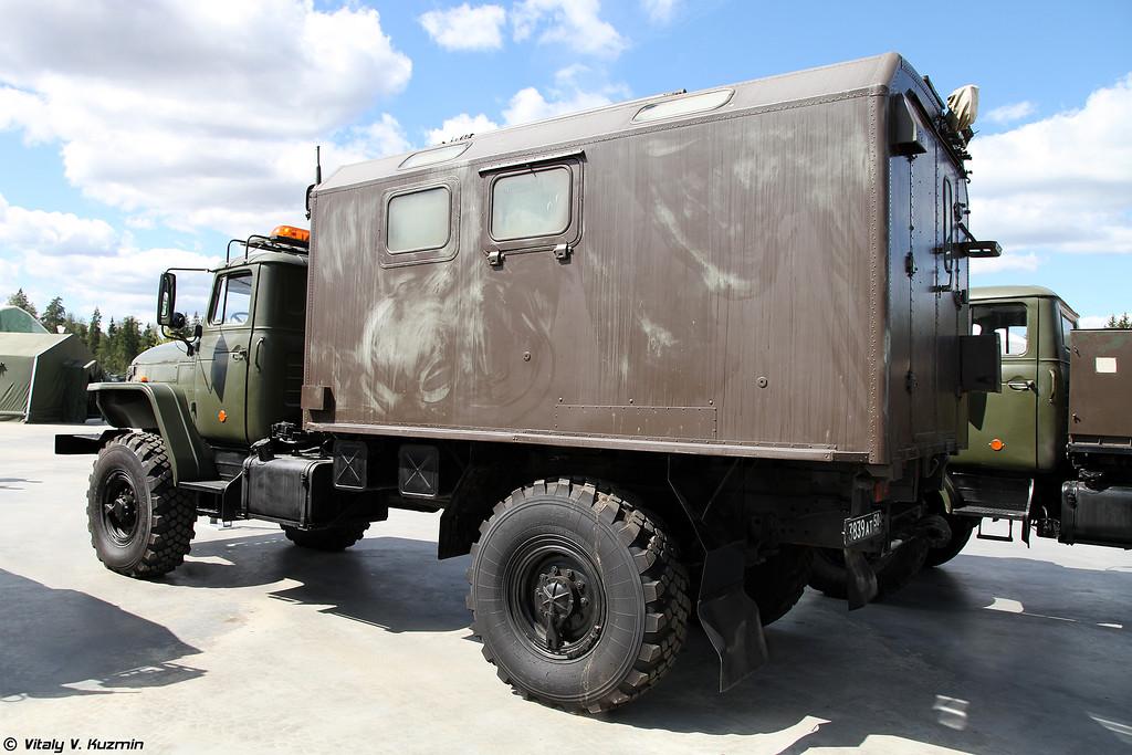 Контрольно-распределительный подвижный пункт КРПП (KRPP command vehicle)