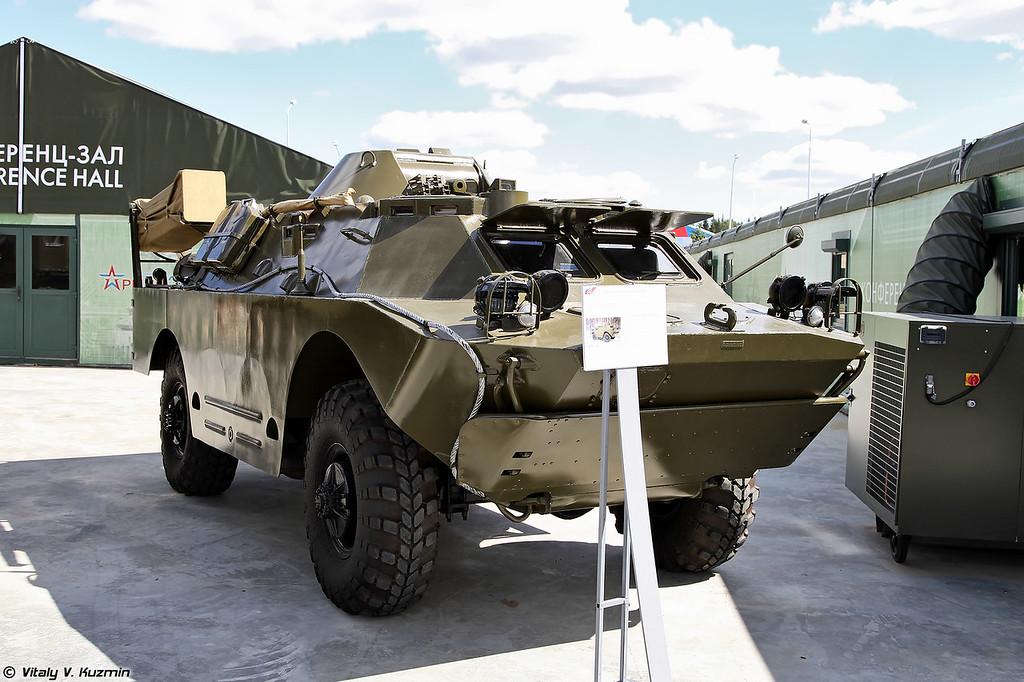 Разведывательная химическая машина БРДМ-2РХБ (BRDM-2RKhB NBC reconnaissance vehicle)