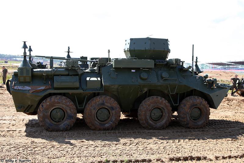 Комплекс радиоразведки и радиоподавления РБ-531Б Инфауна (RB-531B Infauna ECM vehicle)
