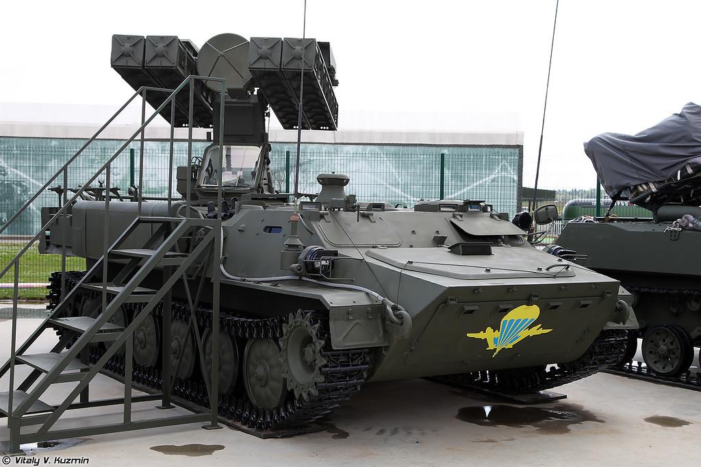 Боевая машина ЗРК Стрела-10МН (Strela-10MN)