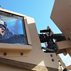 U.S. Army Soldier Spc. Christopher Webb, Headquarters Platoon, H Company, 3rd Squadron, 2nd Stryker Calvary Regiment (SCR), watches his sector of fire while Dragoon Drive is created in Maiwand District, Afghanistan, Nov. 24, 2010. Dragoon Drive is a new road from route 1 to Fort Iron, created to have a more secure route for resupply.  (U.S. Army Photo by Staff Sgt. Tracy Hohman/Released)