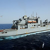 100228-N-1082Z-076 <br /> RED SEA (Feb. 28, 2010) The Military Sealift Command dry cargo and ammunition ship USNS Robert E. Peary (T-AKE 5) is underway in the Red Sea. (U.S. Navy photo, by Mass Communication Specialist 2nd Class Jason R. Zalasky/Released)