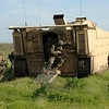 Marines do egress testing with the Expeditionary Fighting Vehicle at Marine Corps Base Camp Pendleton, Calif.