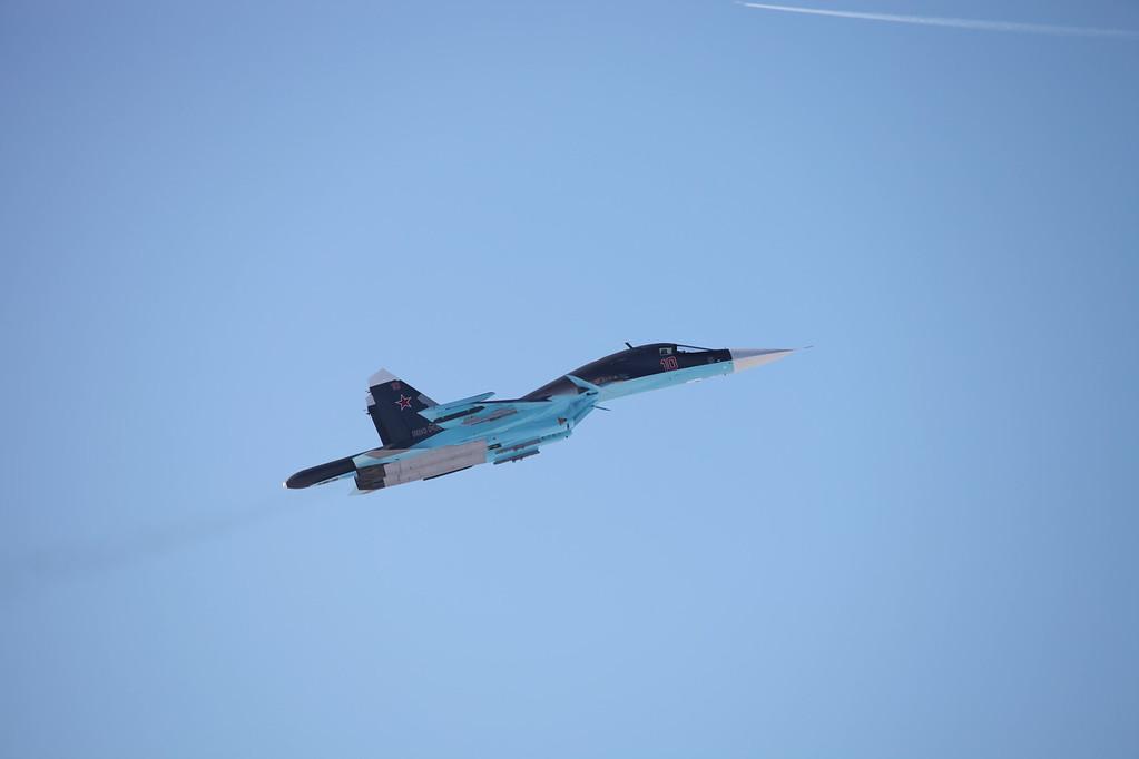 Су-34 (Su-34 with grey livery)