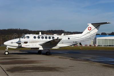 Swiss Air Force Beech Super King Air 350 T-721 (msn FN-1) ZRH (Rolf Wallner). Image: 930757.