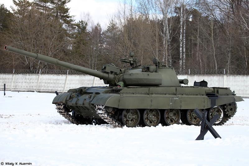 Танк Т-62М (T-62M tank)