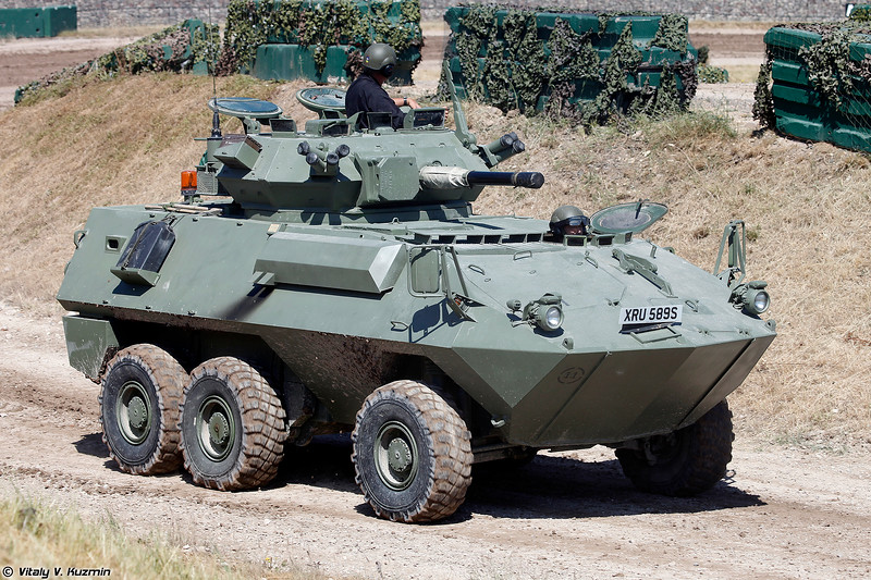 Канадская боевая машина Cougar AVGP (Cougar AVGP armoured fighting vehicle)