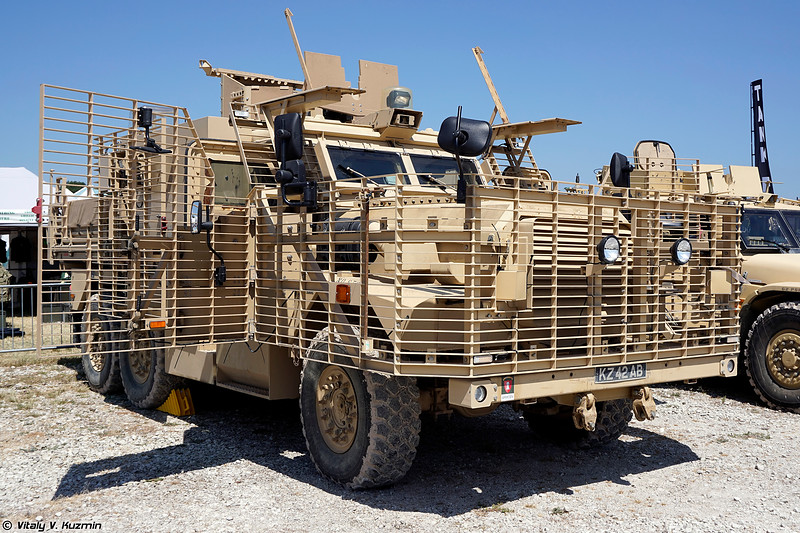 Бронеавтомобиль Wolfhound (Wolfhound Tactical Support Vehicle)
