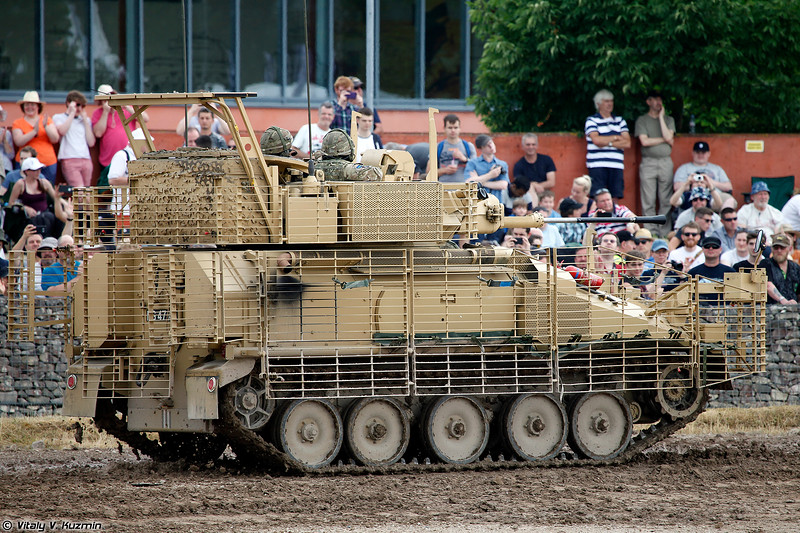 Боевая разведывательная машина Scimitar Mk II (Combat Vehicle Reconnaissance (Tracked) Scimitar 2)