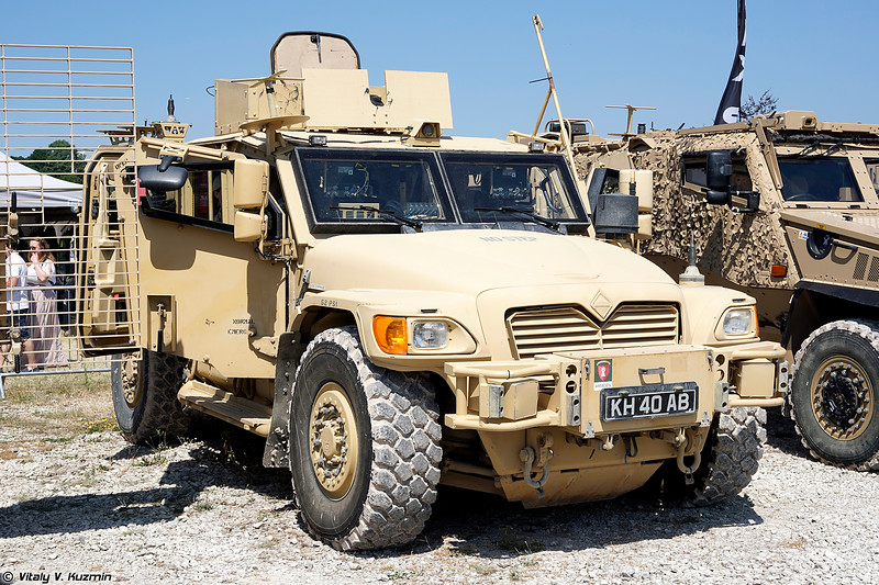 Бронеавтомобиль Husky (Husky Tactical Support Vehicle)